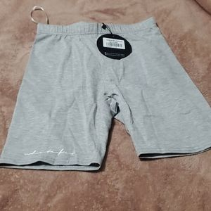 Light Grey Bike Shorts